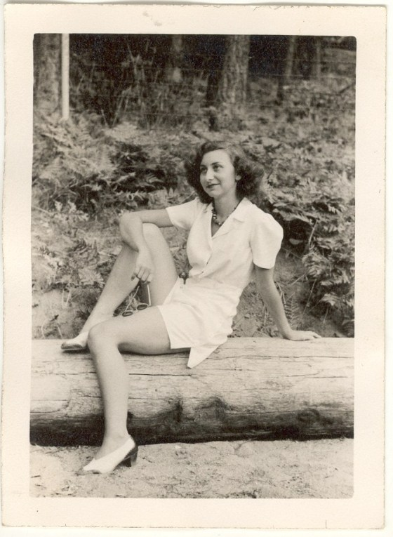 Young Inge Frankel © Airyka Rockefeller