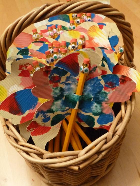 Basket of Rorschach Butterflies © Rebecca Rockefeller