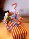 Toys Less Plastic: DIY Dollhouse Dolls – Now inPants!