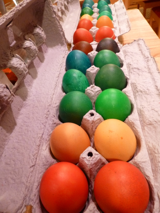 2 Dozen Old Brown Eggs with Fresh Color