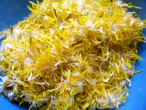 Bowl of Dandelion Petals