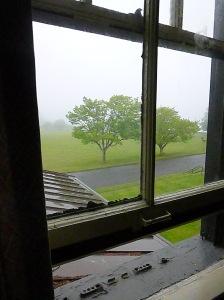 Fort Worden window photo © Rebecca Rockefeller